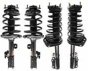 Monroe Quick-strut Front And Rear Strut Coil Spring Kit For Avalon Camry Le Ce Xle