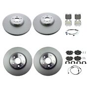 Genuine Front And Rear Brake Kit Disc Rotors Pads And Sensors For Bmw G30 540i S2nha