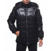 Spire By Galaxy Talvi Menand039s Bomber Jacket With Trim - Black - Size M - Sp1705