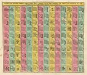 1764 Seutter And Lotter Nautical Flag Chart