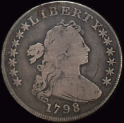 United States 1798 Silver Draped Bust Dollar Fine