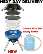 With Gas Bottle New Campingaz Butane/propane Gas Party Grill 400 2kw Bbq 2000w