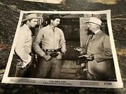 """Vintage 1957 8"""" X 10"""" Real Movie Photo Ben Casey Vince Edwards The Hired Gun"""