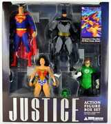 Justice Dc Direct Boxed Action Figure Set Incl. Comic Book