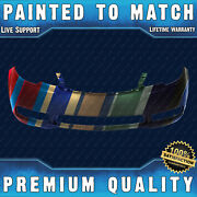New Painted To Match - Front Bumper Cover For 2010-2013 Kia Forte Sedan/hatch