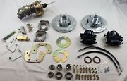 1964 1965 1966 Mustang Front Disc Brake Changeover With Dual Bowl Booster Master