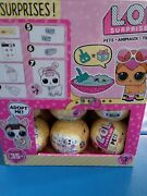 Lol Surprise Pets Full Case Of 18 Yellow Balls Series 3 New Sealed