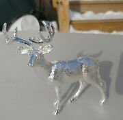 Hand Poured Big Buck 999 Fine Silver14.5+ Troy Oz 999fs Sand Casted