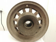 Antique Wooden Wood Spoke Tire Rim Hub Wheel Car Wagon Trailer