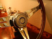 Mercedes W113 230 Sl Wood Steering Wheel Nardi 15.3 New Old Stock Flawless