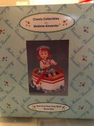 Classic Collectibles Madame Alexander Row Row Row Yours Boat Music Box