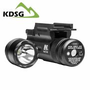 Ncstar Aqptflg Quick Release 3w Cree 200 Lumen Led Light / Swappable Green Laser