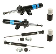 For Bmw E60 535xi Front Suspension Struts And Rear Shock Absorbers And Bump Stop Kit