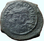 Justinian I 527ad Big Ancient Medieval Byzantine Coin Large M I41330