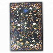 54 X 32 Dining Table Top Marble Top Inlay Marquetry Handmade Home Inlay Art