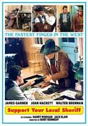 Support Your Local Sheriff New Sealed Dvd James Garner