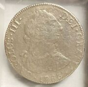 1783 Mexican Reale From The Wreck Of The El Cazador Gulf Of Mexico 1784
