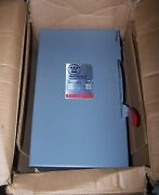 New Westinghouse 60 Amp Non-fused Safety Switch 600 Vac 50 Hp 3 Phase Hun362