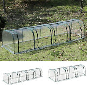 Large Transparent Pvc Tunnel Greenhouse Green Grow House Steel