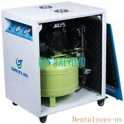 40l Dental Medical Lab Air Compressor Silent With Air Dryer And Silent Cabinet Ce