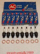 Nos Ac-46 Spark Plugs...andlsquo1958andrsquo...no Green Rings...w/copper Gaskets...gm 1559494