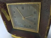 Vintage Oris Swiss Made 15 Jewels 8 Day Alarm Clock Rare,old And Antique