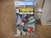 Tomorrow Knights 1 Cgc 9.8 Epic Marvel 1990 Mint Space Movie White Pgs Mech Hero