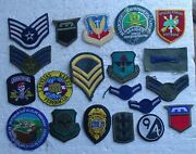 Small Group Of 20 Patches From An Estate Sale - Military Vietnam Ranger Etc.