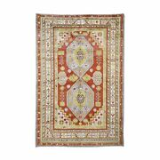 5and0395x8and0396 Rust Antique Khotan Exc Cond Full Pile Hand Knotted Fine Rug R48478