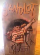 Sandlot Collectible Signed Ham Porter Bobblehead Autographed By 3 Stars