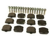 🔥genuine Gm Front Disc Brake Pads And Pins Set For Chevrolet Corvette🔥