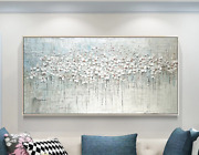 Abstract Oil Painting On Canvas Art Wall Picture For Living Room Home Decor Fram