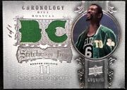 Bill Russell 07-08 Upper Deck Chronology Stitches In Time Dual Jersey True 1/1