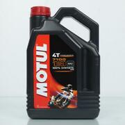 Canister 4 Liters Oil Motul 10w60 7100 4t Ma2 100 Synthesis Motorcycle