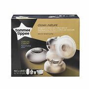 Tommee Tippee Closer To Nature Electric Single Breast Pump + Bottle Steriliser