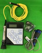Vwr Digital Conductivity Water Purity Bench Meter 61161-362 And Hach Cdc401 Probe