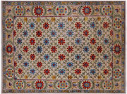 6and039 3 X 8and039 4 William Morris Hand Knotted Rug - P7050