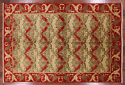 5and039 10 X 8and039 8 William Morris Handmade Wool Rug - Q1751
