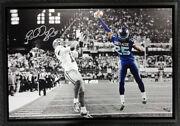 Richard Sherman Autographed Signed Framed 20x30 Canvas Photo Tip /125 Rs 94468