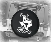 Spare Tire Cover Donand039t Mess With Texas State Longhorn Star Auto Accessories