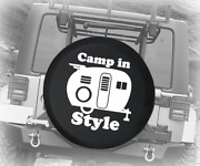 Spare Tire Cover Camp In Style Vintage Auto Accessories