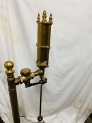 Railroad Single Chime Brass Whistle 1 Thread Stand Not Included Steampunk