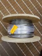 Cable Railing Type 316 Stainless Steel Wire Rope Cable, 5/32, 1x19, 500 Ft Reel