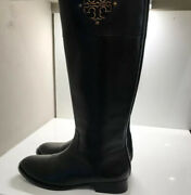 Women's Sidney Leather Tall Riding Boots Womens Boots Size 11m Black