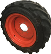 26x12d380 Outrigger Otr Foam Filled Tire And Wheel, 2612d380 Set Of 4