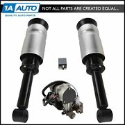 Front Air Shock Assemblies Compressor And Relay Kit For Land Rover Suv