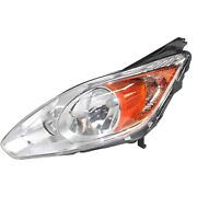 Headlight For 2013 2014 2015 2016 Ford C-max Left Clear Lens With Bulb
