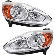 Headlight Set For 2013 2014 2015 2016 Ford C-max Left And Right With Bulb 2pc