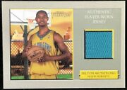 Hilton Armstrong 06-07 Topps Turkey Red Suede Parallel Jersey Relic Rookie 2/3