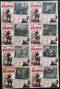 The Mummy Christopher Lee Peter Cushing Style A Mexican Lobby Card Set 1959 Rare